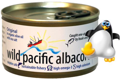 Original in Olive Oil  Wild Pacific Albacore