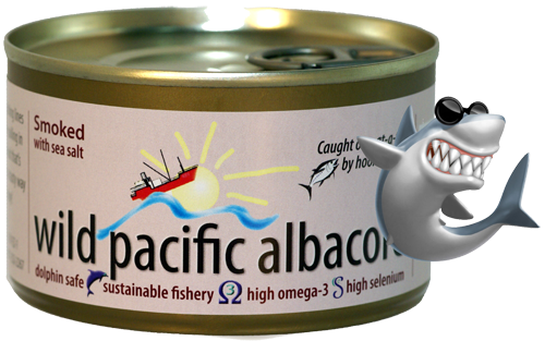 Smoked 7.5 oz Wild Pacific Albacore